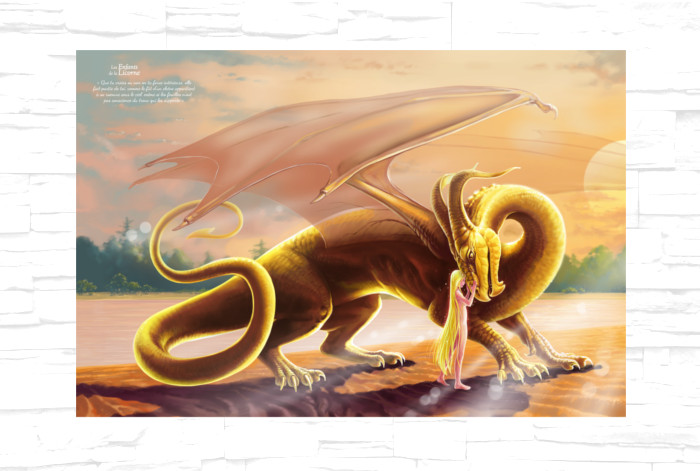 Poster Dragon d'Or